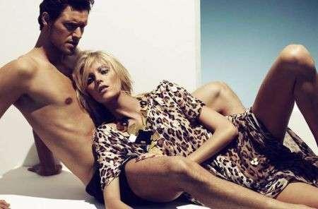 Anja Rubik e Sasha Knezevic, belli e innamorati su Vogue Germania
