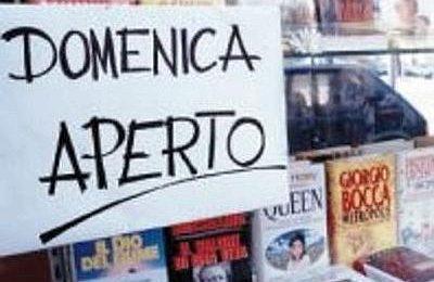 Le aperture domenicali dei negozi nelle grandi città italiane