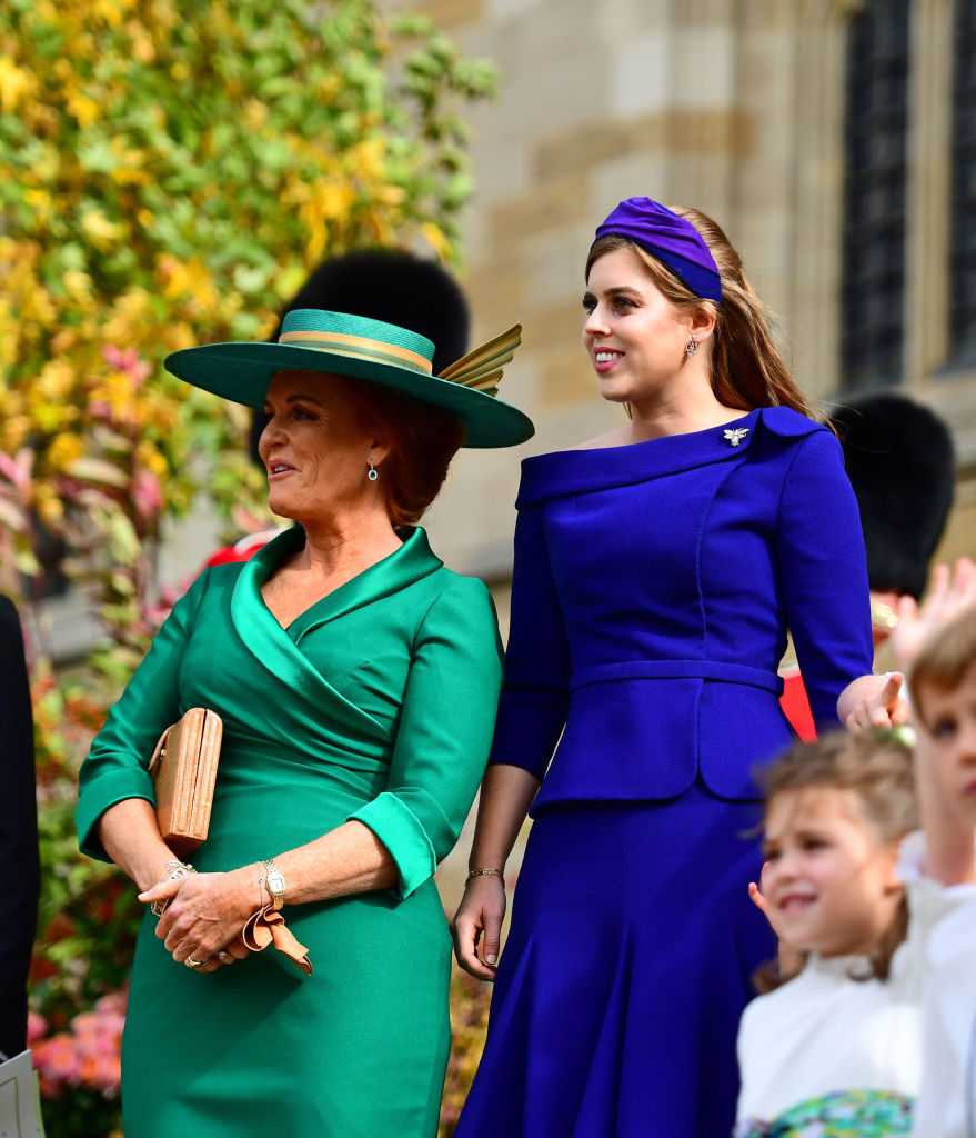 Sarah Ferguson e Beatrice of York, 2018