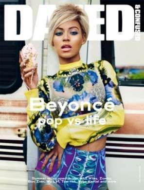 Beyonce seducente e grintosa in Givenchy per Dazed & Confused