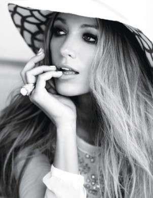 Blake Lively bellissima per gli scatti di Glamour US