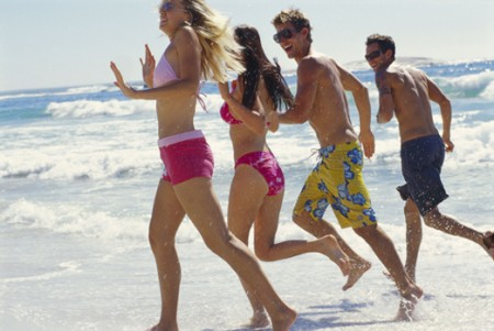 corsa spiaggia esercizi