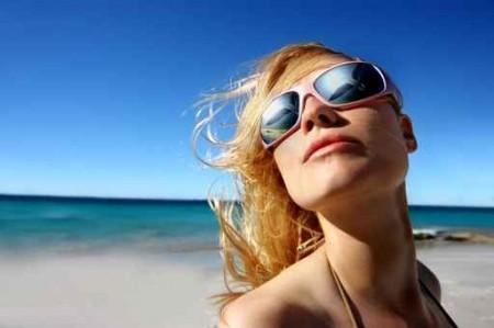 effetto del sole sulla pelle