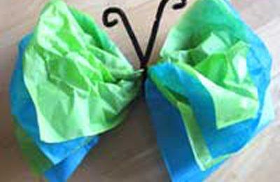 Decorazioni fai da te per l'estate: le farfalle di carta