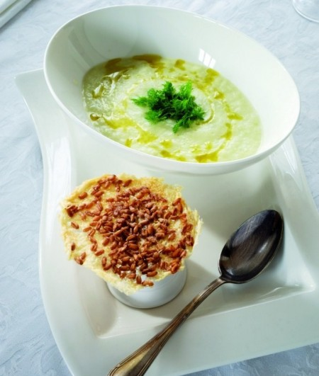 Ricette light: minestra finocchi e farro