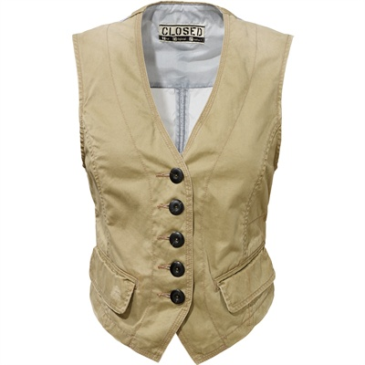 gilet donna closed