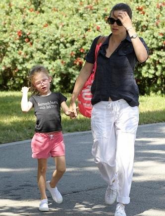 Jennifer Garner con borsa Victoria's Secret
