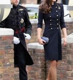 Kate Middleton ancora in Alexander McQueen, stavolta opta per un look militar chic