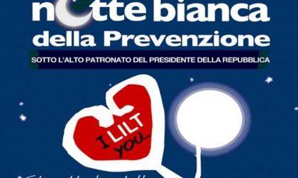 """Per prevenire i tumori torna la """"Notte bianca"""" della LILT"""