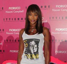 Naomi Campbell designer per Fiorucci, una favolosa linea in denim