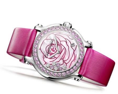 """Chopard ci presenta l'orologio """"La vie en rose"""", femminile e chic"""