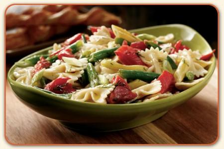 pasta fredda fagiolini