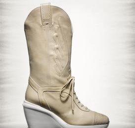 Stivali estivi Hogan by Karl Lagerfeld: stile cowboy e zeppa alta!