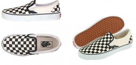 vans scacchiera scarpe