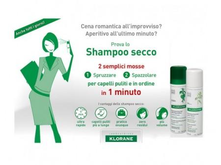Shampoo secco Klorane: prezzi e opinioni