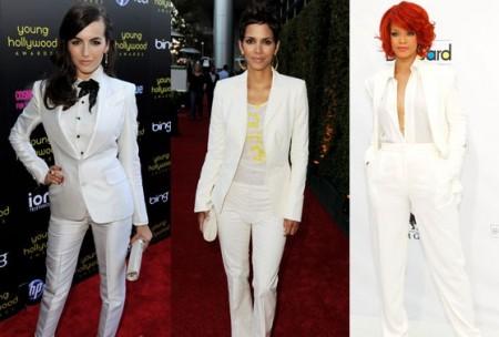 tailleur bianco pantaloni 2011