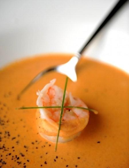 Ricette light: vellutata di gamberetti e pomodori