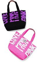 victorias secret pink oversized weekend tote 125x150