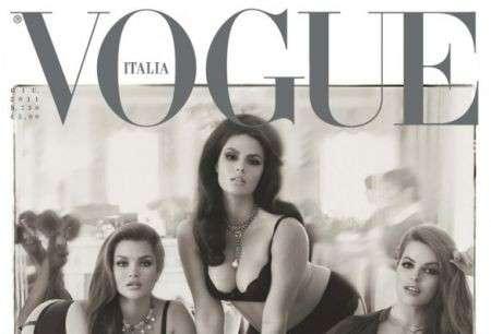 La rivincita delle Curvy: Vogue Italia premia le taglie forti