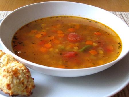 Ricette light: la zuppa primaverile