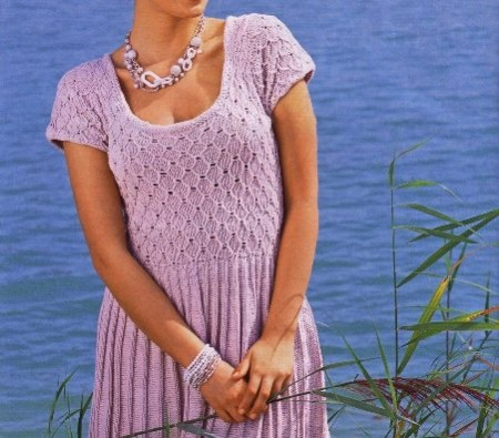 Crea un abitino rosa ai ferri per la tua estate al mare