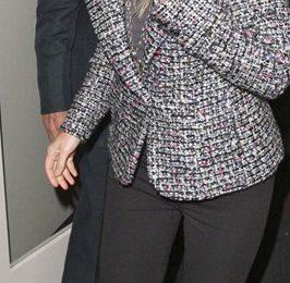 La passione della star per le scarpe scultura: Gwyneth Paltrow con sandali Camilla Skovgaard