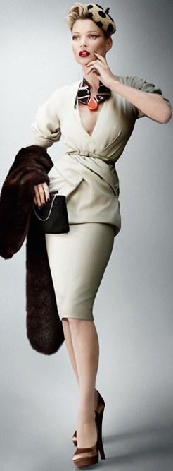 Scarpe Donna Karan per Kate Moss, un look elegante e ricercato
