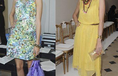 Olivia Palermo punta sul low cost di Zara e Topshop