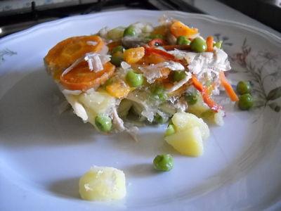 La freschissima ricetta light del pollo in gelatina
