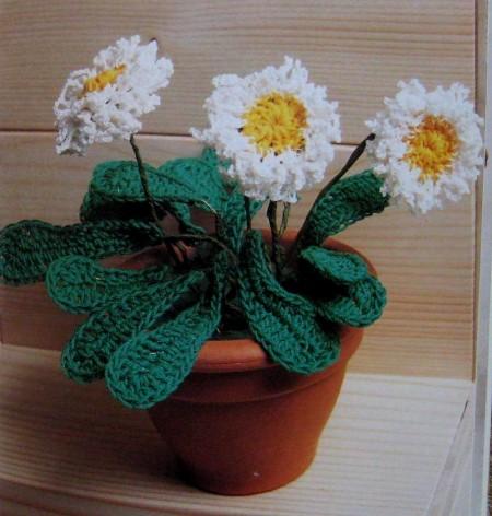 Crea bellissime pratoline in cotone all'uncinetto