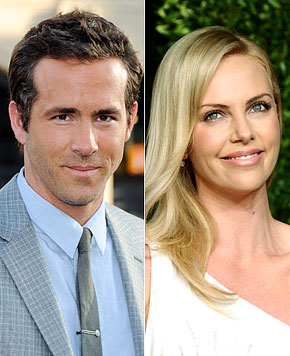 Ryan Reynolds e Charlize Theron