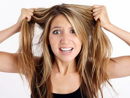 Maschera fai da te per capelli stressati