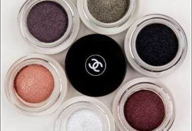 In autunno occhi in primo piano con gli ombretti Long Wear Luminous Eyeshadow di Chanel