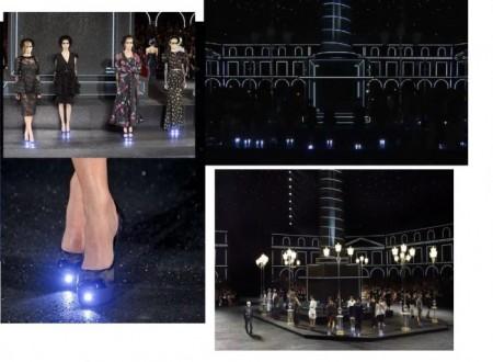 Illuminazione Led per le scarpe Chanel, l'arte del farsi notare!