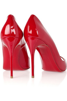 christian louboutin sexy rosse tacco