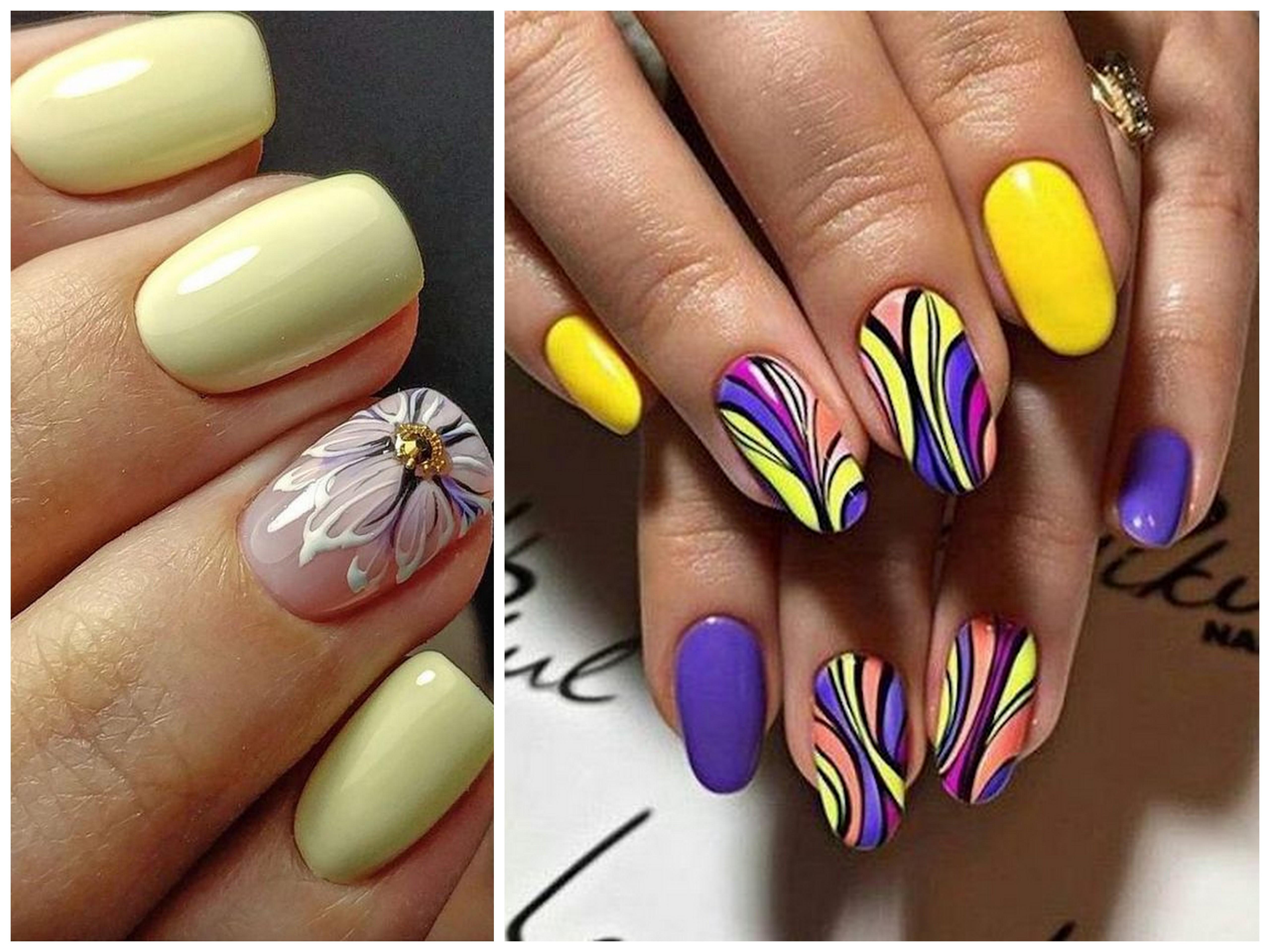 decorazioni per unghie estive