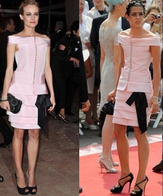 diane kruger charlotte casiraghi chanel couture pe 2011