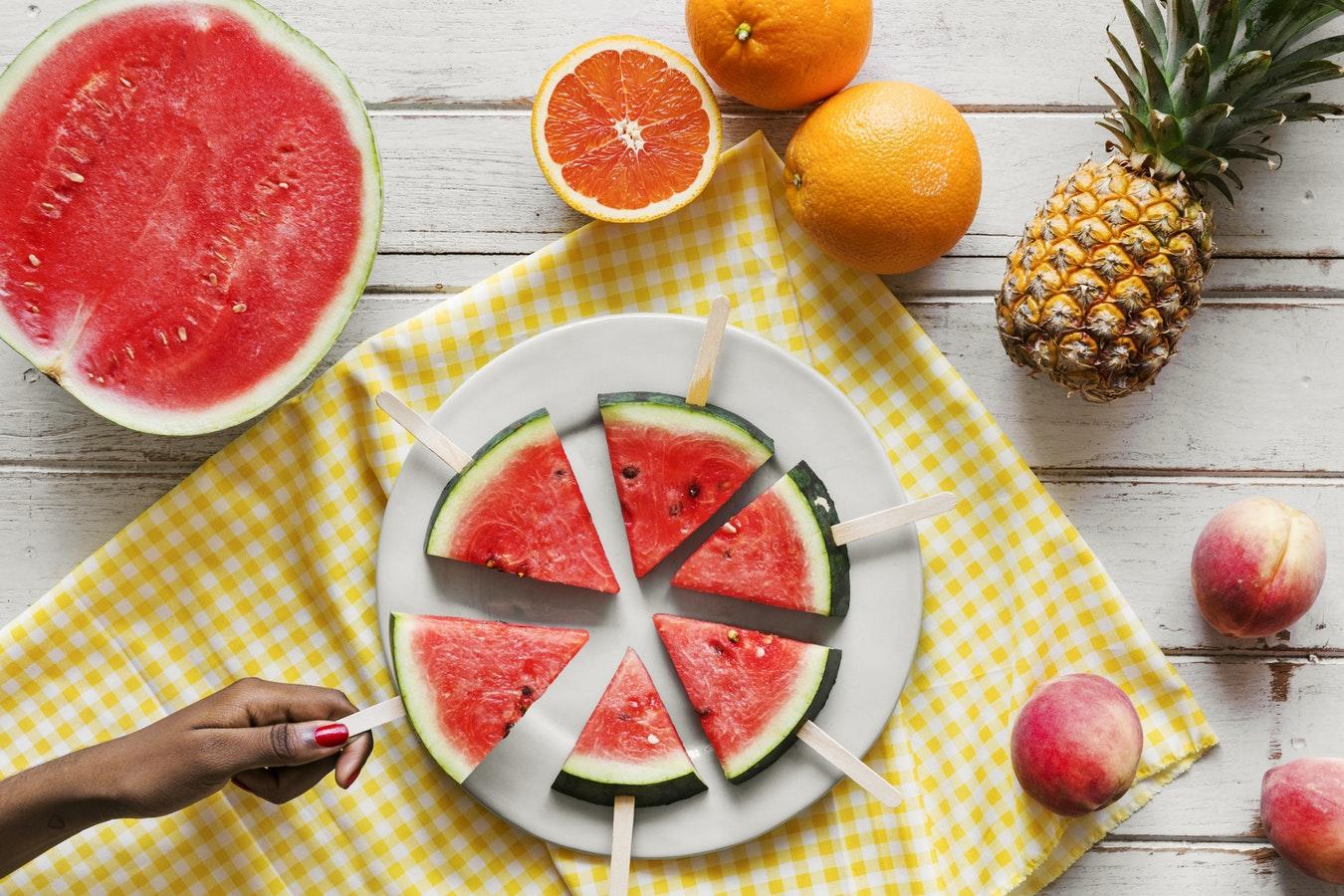 Dieta estiva vitaminica, lo schema e il menù