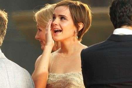 Emma Watson lacrime
