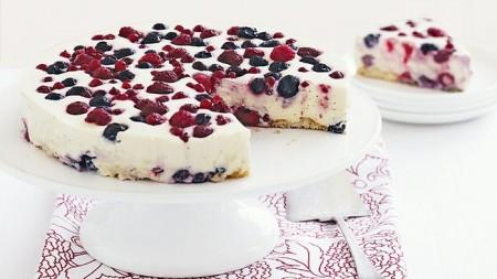 Finto cheesecake gelato, ricetta facilissima