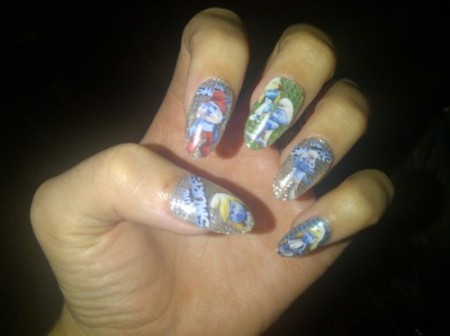Le unghie decorate con i Puffi di Katy Perry sono tutte da copiare!
