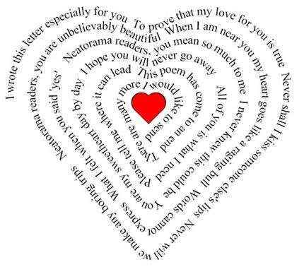 love poem heart saba