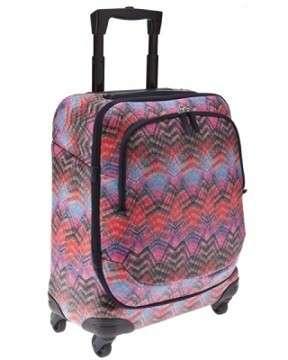 Le valigie di Bric's vanno a nozze con i colori di Missoni. Glamour ed estrose!