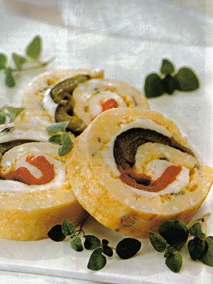 Una buonissima ricetta light per l 39 estate rotolo con for Mozzarella in carrozza parodi