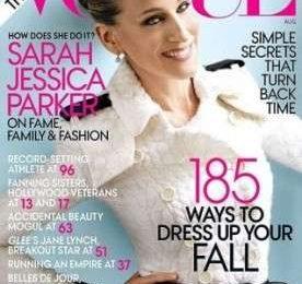 Le foto del servizio di Vogue US con la bella Sarah Jessica Parker