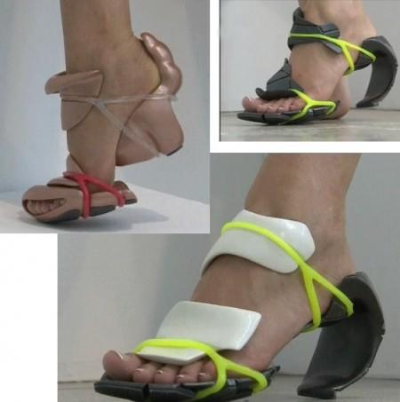 Shoe-addicted sempre in cerca della scarpa perfetta? Ecco la novità del momento: le scarpe modulari!