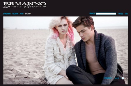Ermanno by Ermanno Scervino approda online, nuovo sito per la linea giovane