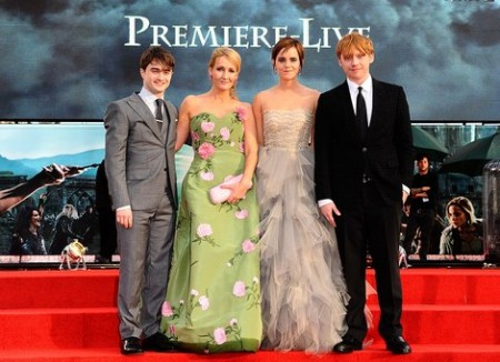 the world premiere of harry potter and the deathly hallows part 2 gallery
