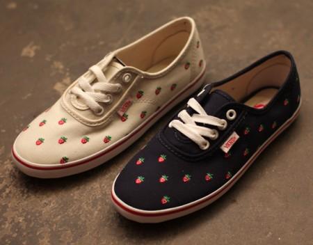 """Vans presenta le """"Strawberry Cedar"""", sneakers con fantasia a fragole!"""