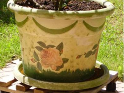 Come rinnovare un vecchio vaso di terracotta pourfemme - Come abbellire un bagno vecchio ...